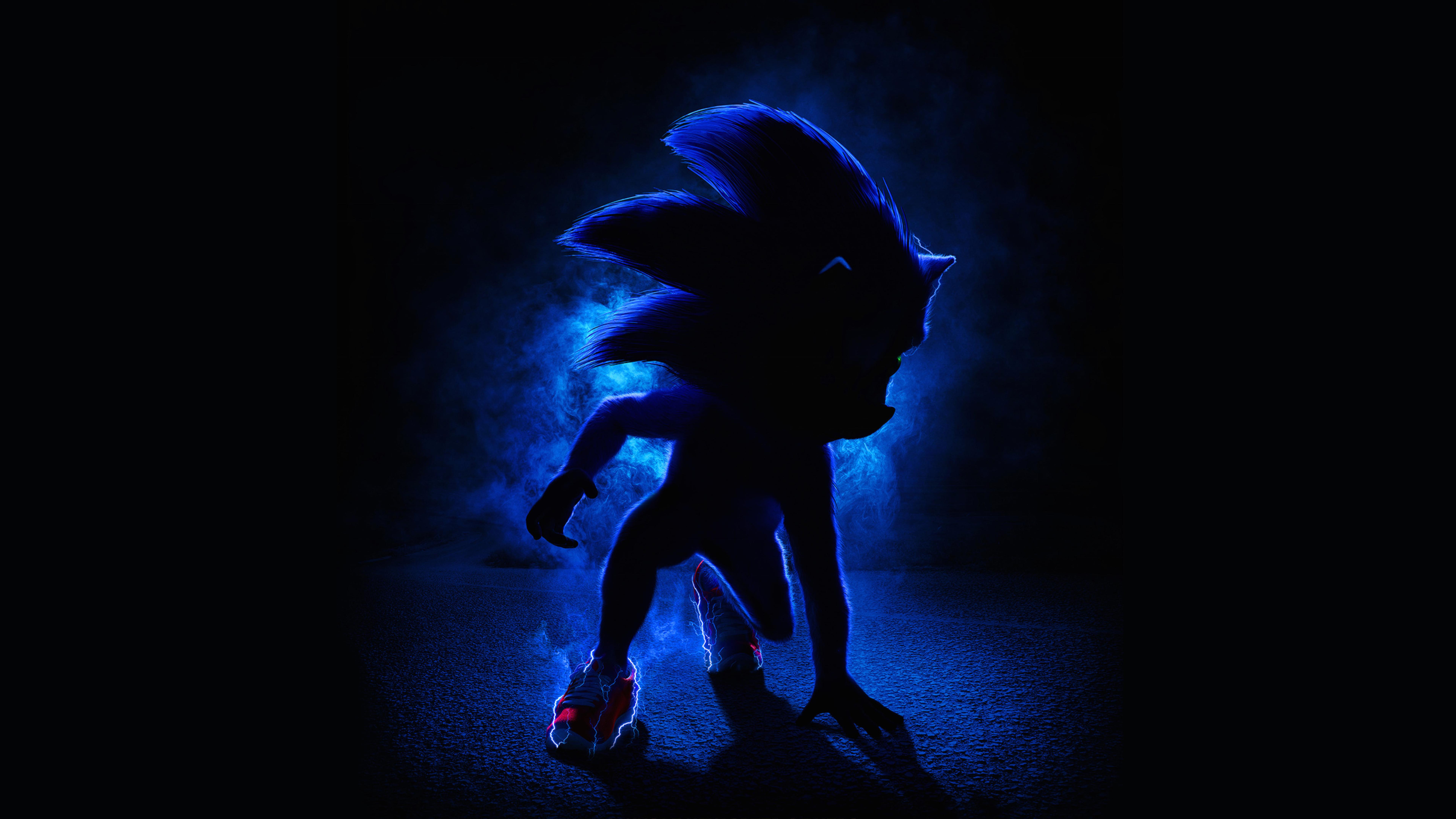 7680x4320 Sonic the Hedgehog 2019 Movie Poster 8K Wallpaper HD 7680x4320