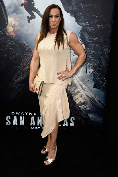 Dany Garcia in Premiere Of Warner Bros San Andreas 399x600