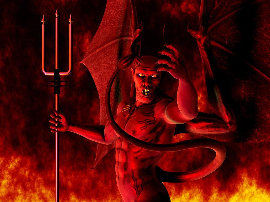 His Satanic Majesty Fred by DarkRiderDLMC 900x675