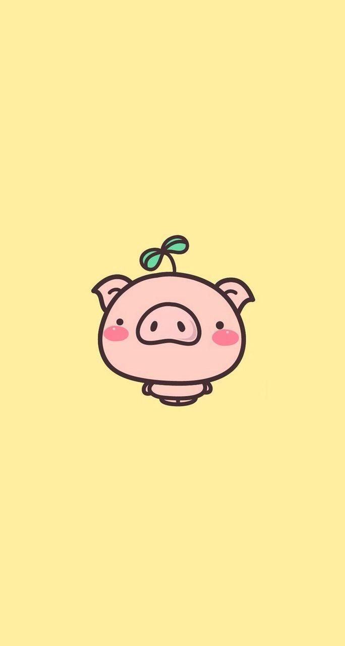 Kawaii Pig Wallpapers   Top Kawaii Pig Backgrounds 684x1280