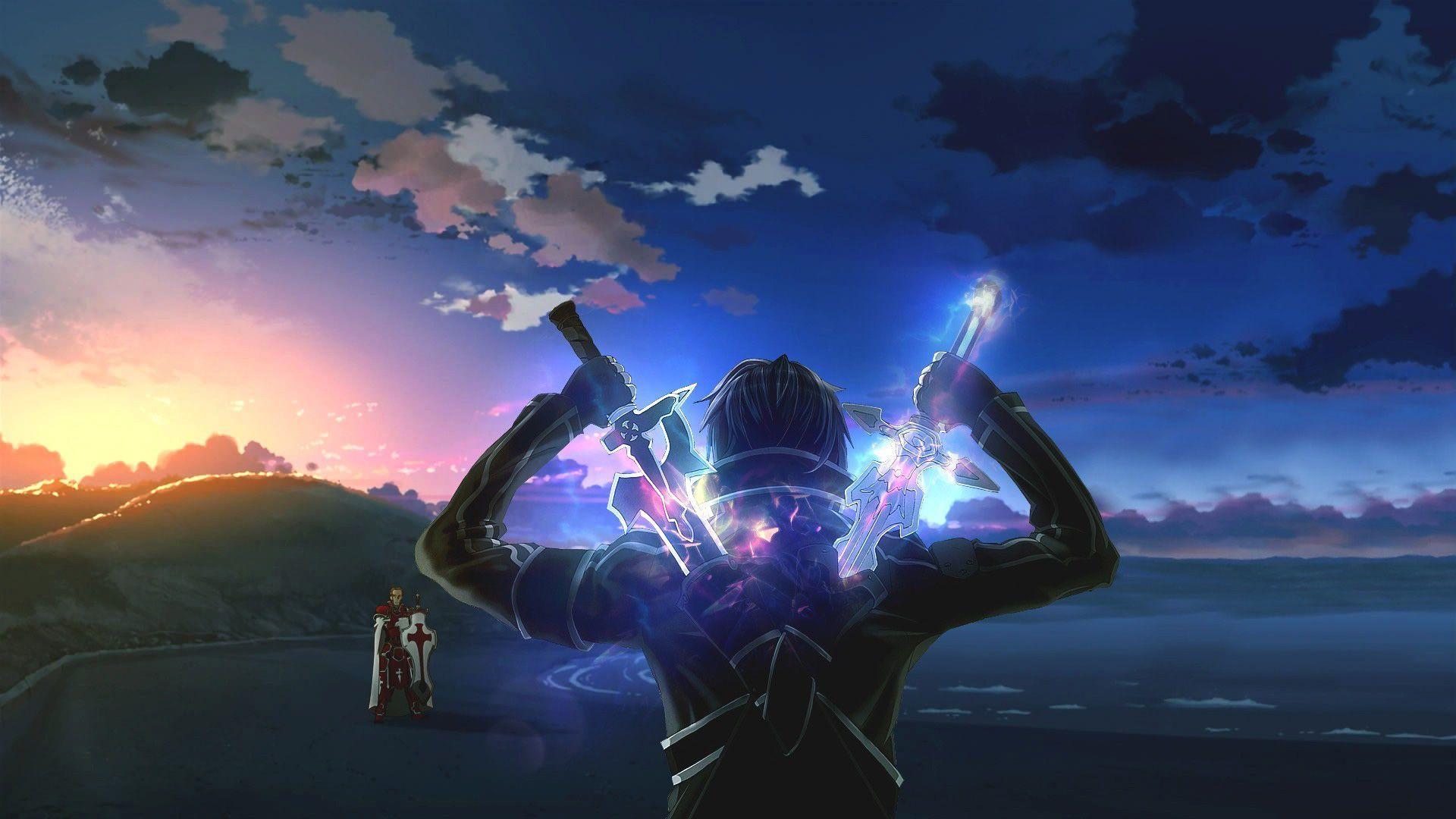 sword art online 2 desktop wallpaper