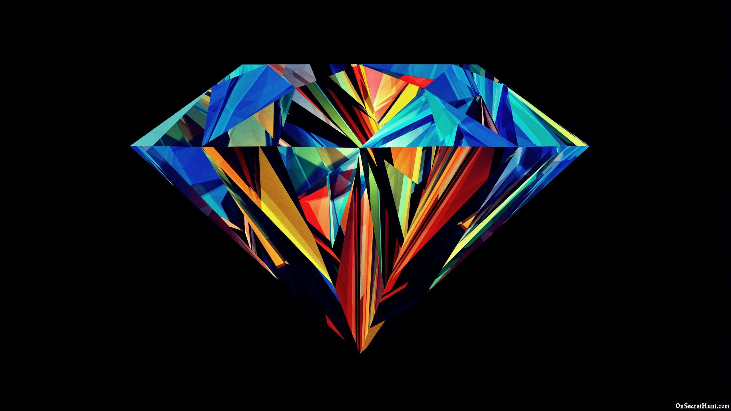Colorful Diamond Hd Wallpaper Wallpaper List 2560x1440
