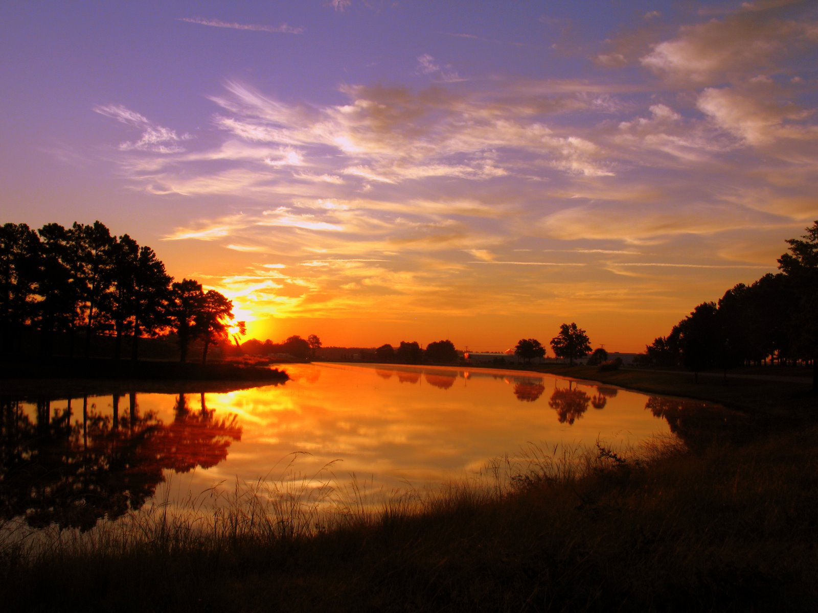 Beautiful Sunrise By Hunter Coleman Desktop Wallpaper 1600x1200