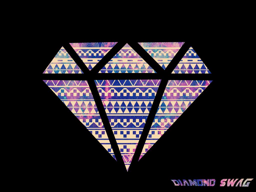 Wallpaper Diamond Swag by Sim HDS 1024x768