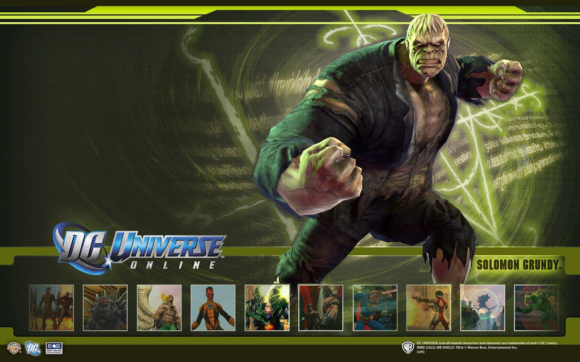 DC Universe Online Solomon wallpapers DC Universe Online Solomon 1920x1200