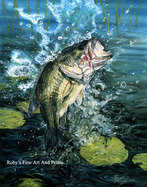 Hd Bass Fishing Wallpaper Pastel largemouth bass 480x611