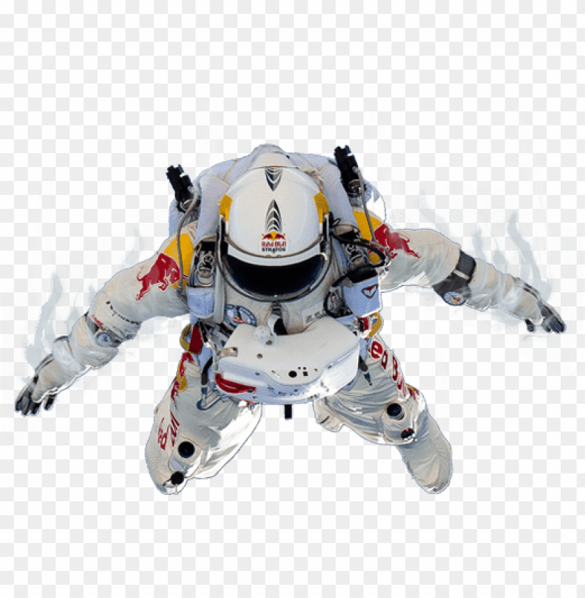 red bull felix baumgartner PNG image with transparent background 840x859