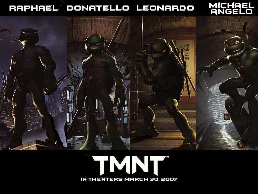 Tmnt 2007 Leonardo Wallpaper Turtles TMNT WALLPAPERS 1024x768
