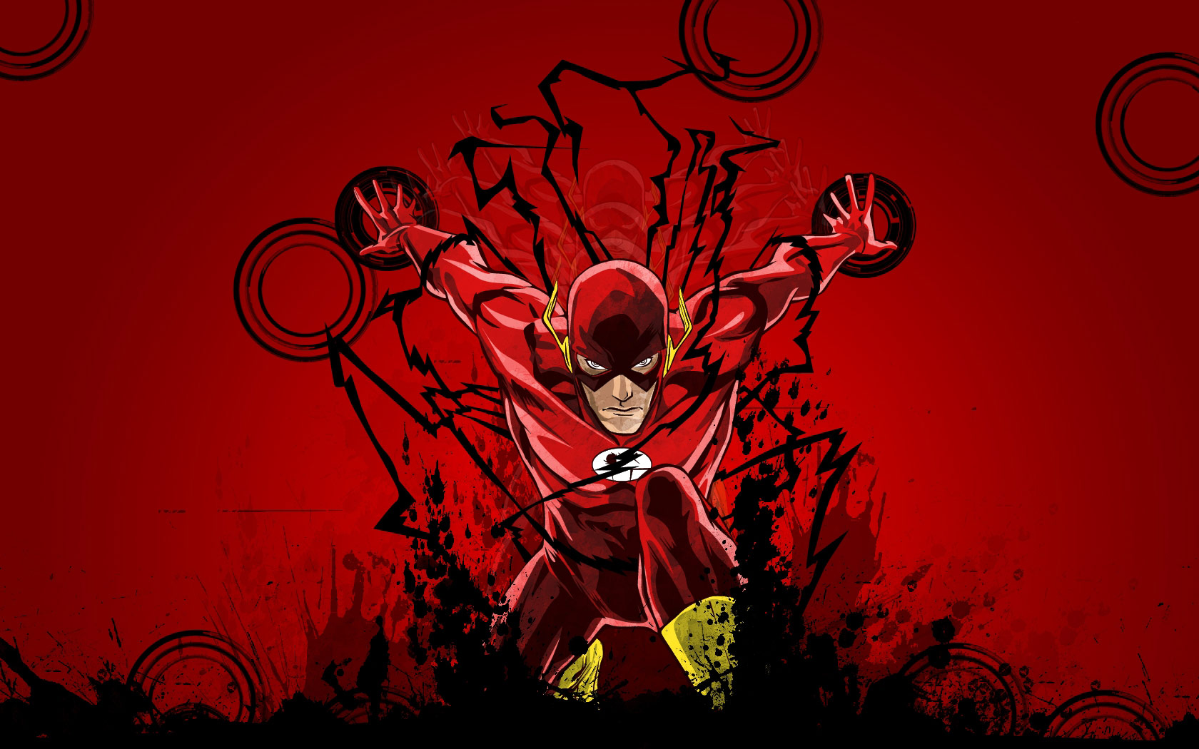 Tags flash tv series wallpapers 1680x1050