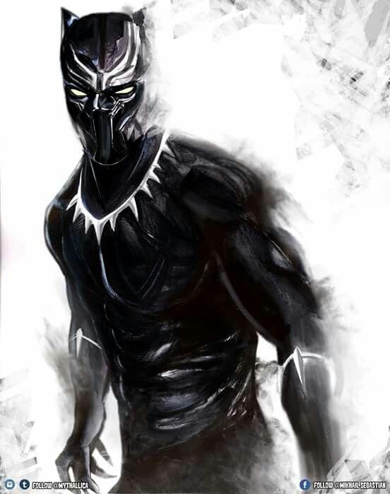 Black Panther black panther Pinterest 552x699