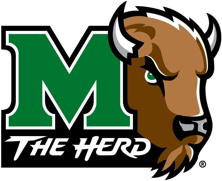 Pin Marshall Thundering Herd Logo 761x621