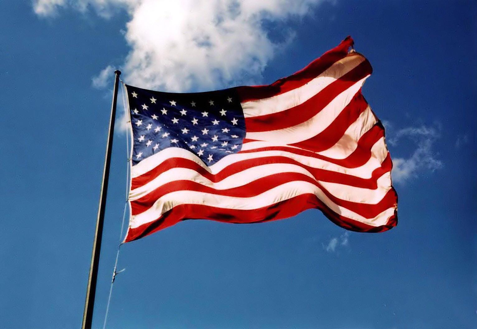 Us Flag 9731 Hd Wallpapers in Travel n World   Imagescicom 1532x1056