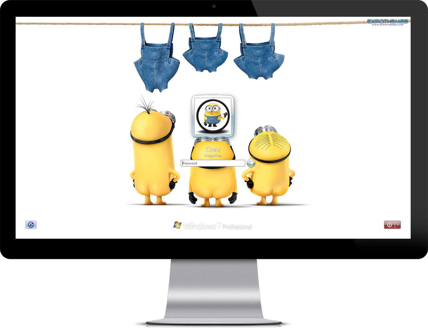 Google themes minions - With Minion Wallpapers Logon Screen Wallpaper Automatically Change