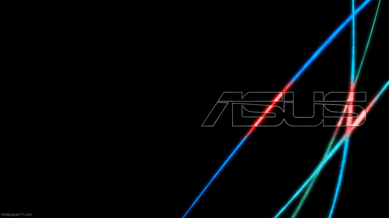 Black 1366x768 pixels Wallpapers tagged Asus Wallpapers Computer 1366x768