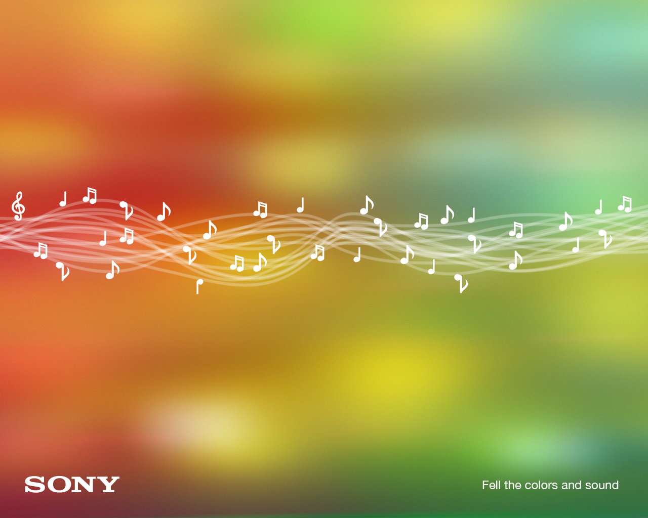 Sony Colors And Sound Wallpaper Geekpedia 1280x1024