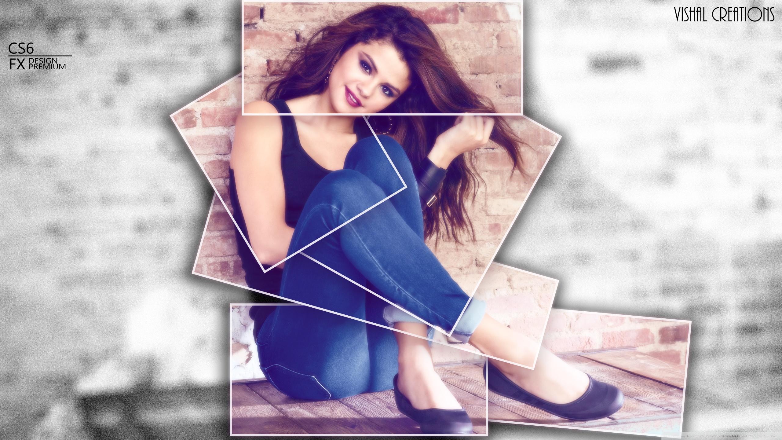 WallpapersWidecom Selena Gomez HD Desktop Wallpapers for 4K 2560x1440