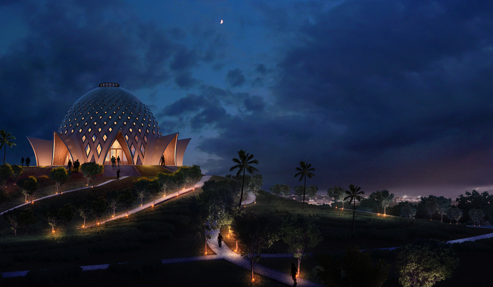Gallery of Images Released for Bah House of Worship in Papua 1582x922