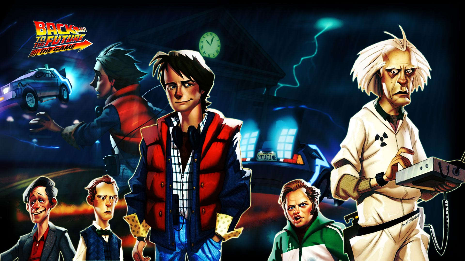 Games Wallpapers   Back To The Future wallpaper 1920x1080