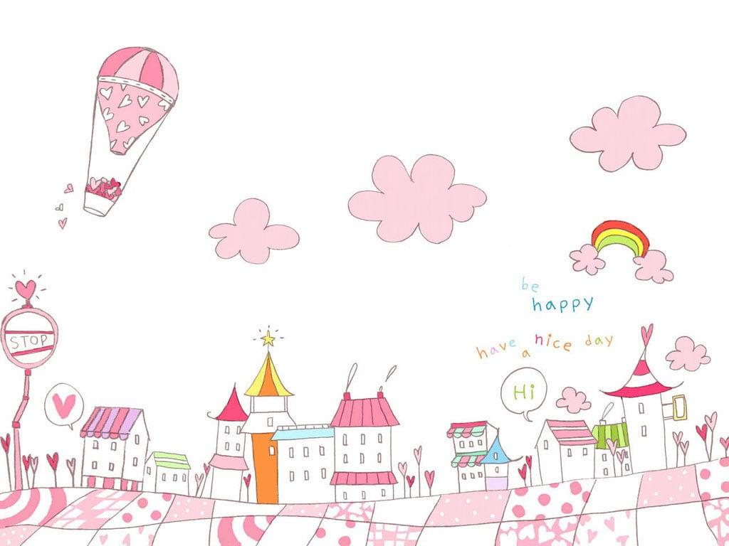 Pink Cute Wallpaper - WallpaperSafari