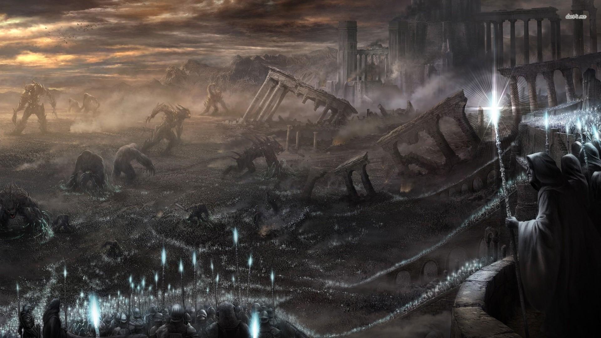 Name 18788 destroyed city 1920x1080 fantasy wallpaperjpgViews 1920x1080