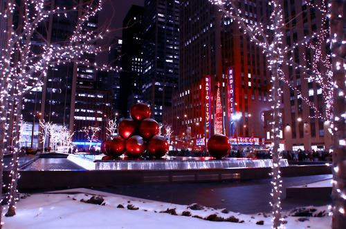 christmas in nyc on Tumblr 500x332