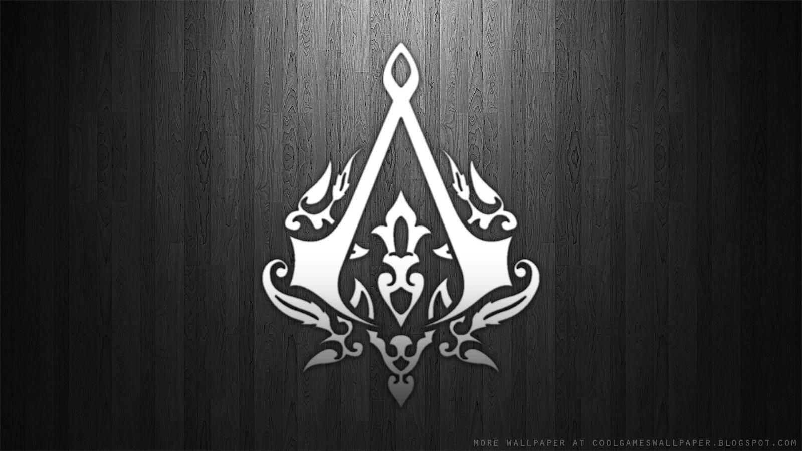 Assassins Creed 3 Logo Wallpaper   Cool Games Wallpaper 1600x900