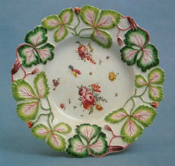 Strawberry leaf border China and Porcelain Pinterest 573x545