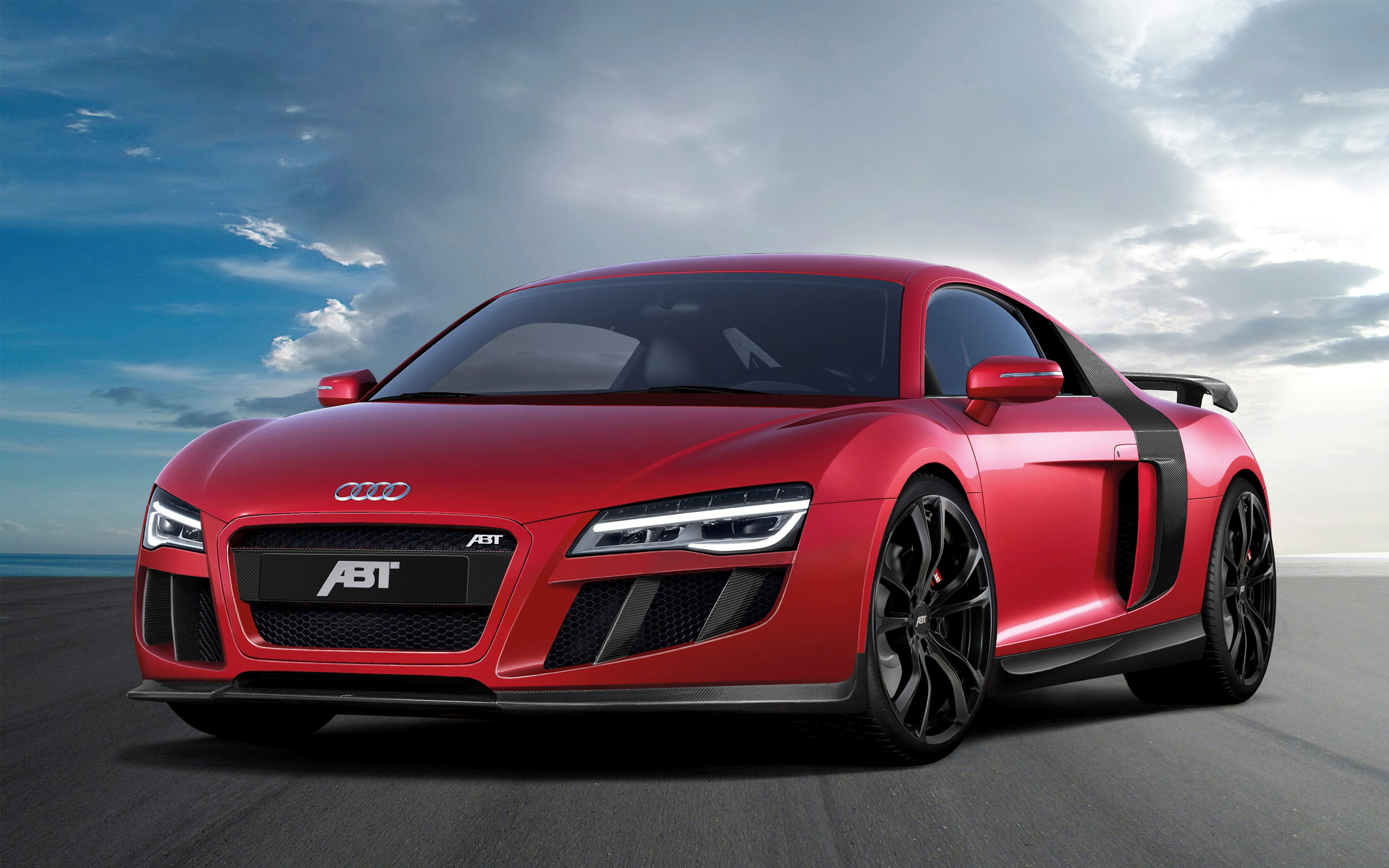 Audi R8 V10 by Abt Car HD Wallpaper HD Wallpapers 2560x1600