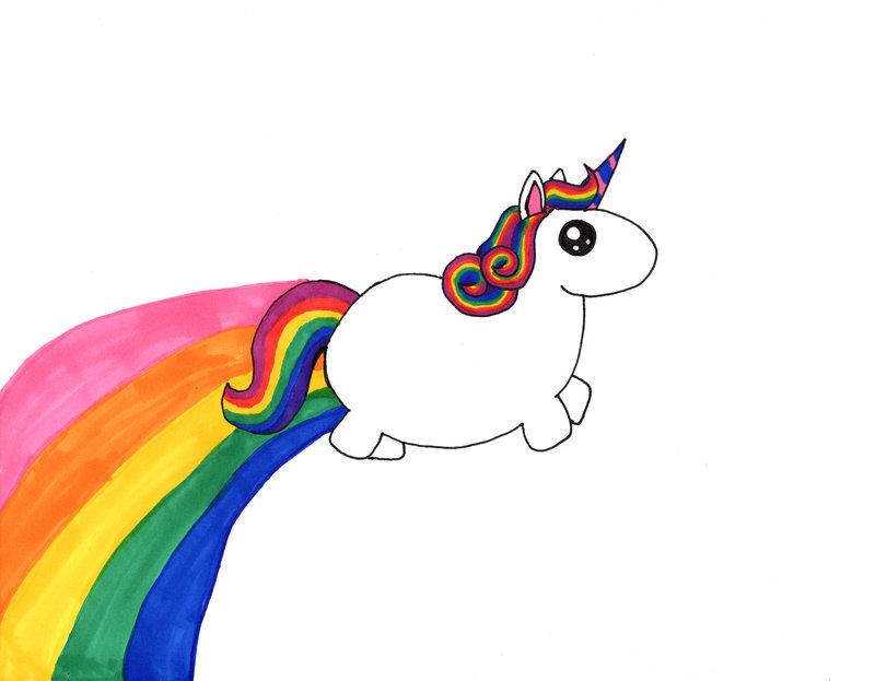 Cartoon Unicorn Wallpaper 800x623