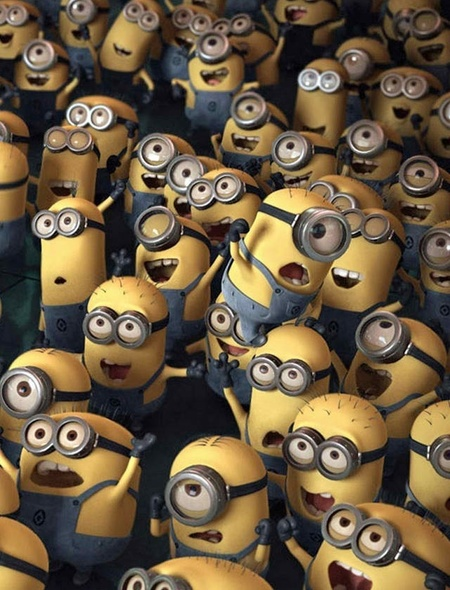 Despicable Me Minions Wallpaper for Amazon Kindle Fire HD 89 450x590