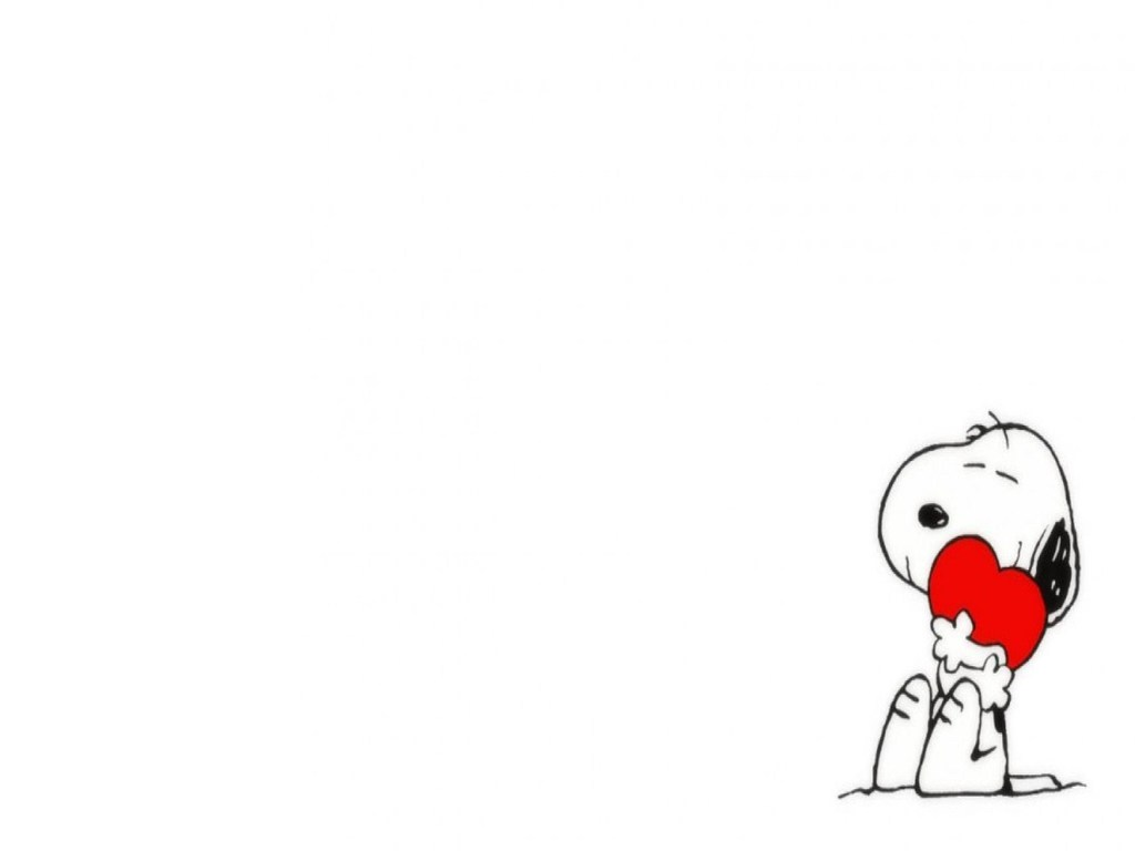 Snoopy s Valentines Wallpaper HD Background Wallpaper 1024x768