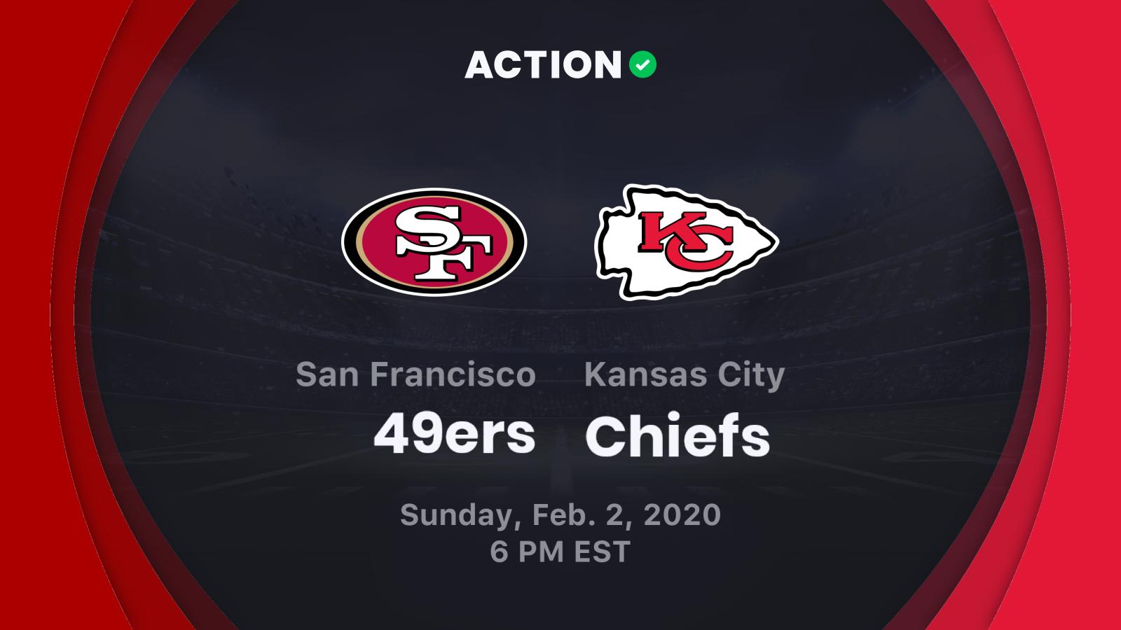49ers vs Chiefs Betting Odds Predictions Picks February 2 2020 1600x900