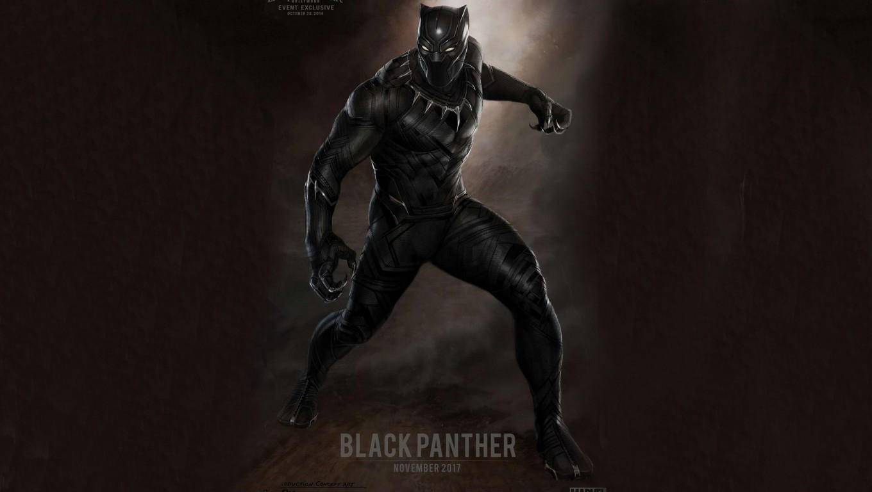 Black Panther Marvel HD Wallpaper 1360x768