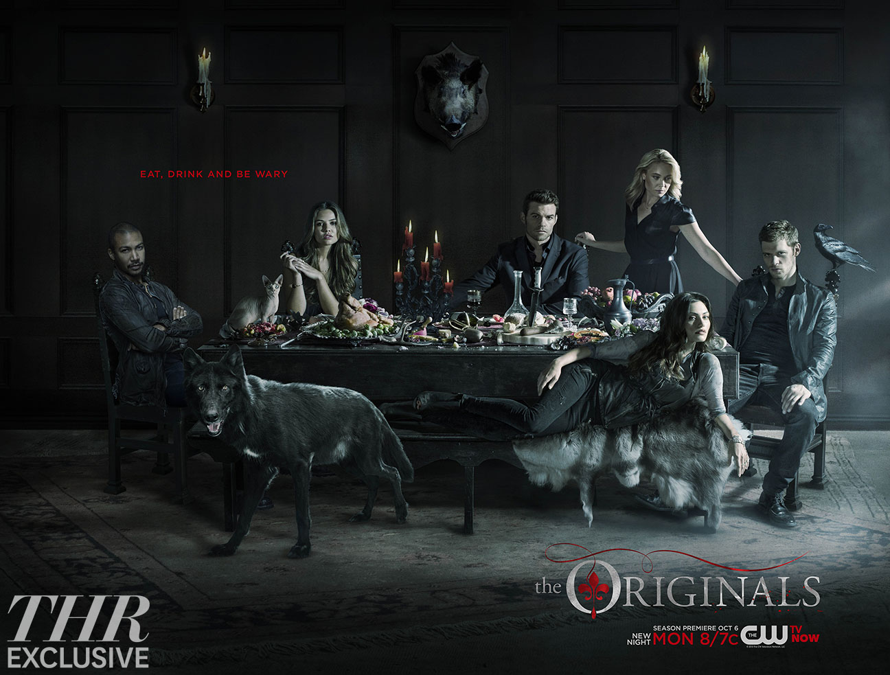 The Originals Season 2 Poster Warns of Potential Dangers   Hollywood 1296x983