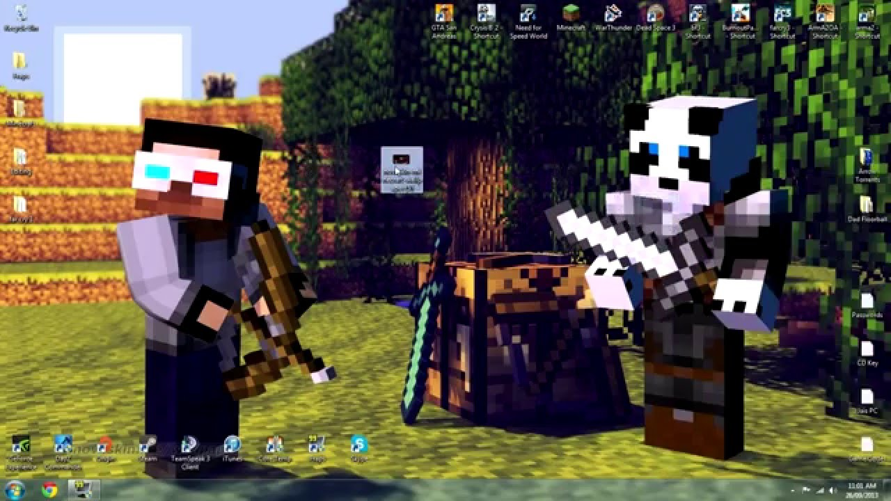 Free download Minecraft Custom Skin