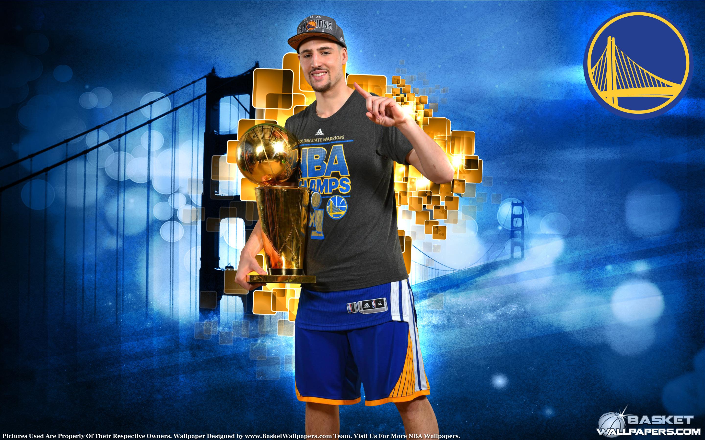 Klay Thompson 2015 NBA Champion Wallpaper by basketwallpaperscom 2880x1800