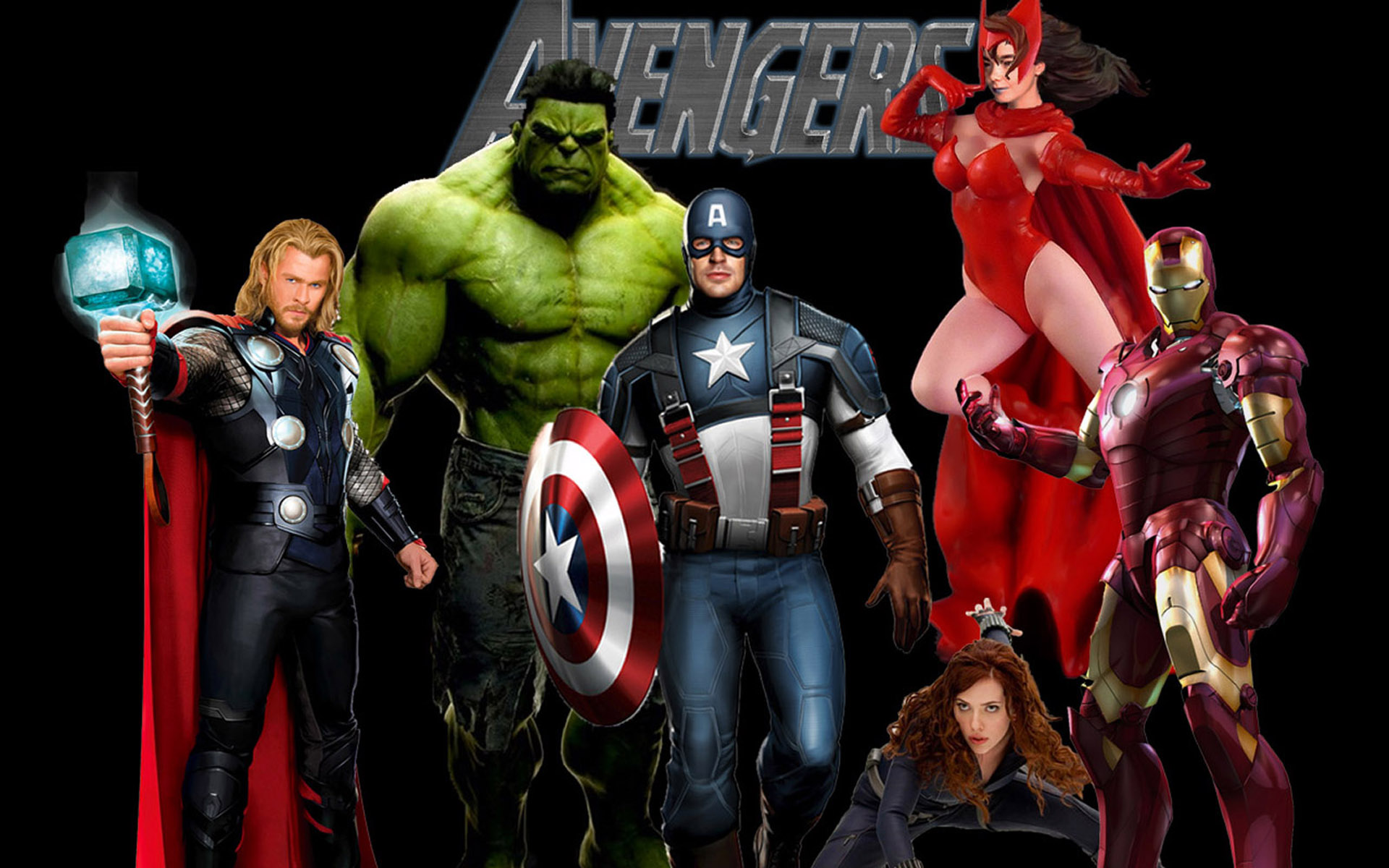 avengers desktop wallpaper 1920x1200 1920x1200
