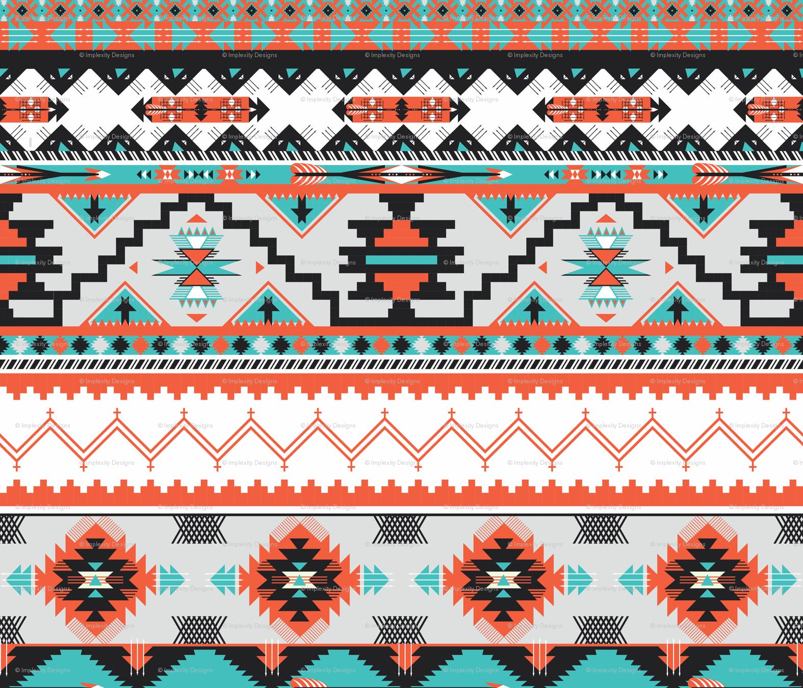 51dbcf2f8 Native American Tribal Patterns Wallpaper Native american fabric 1575x1350