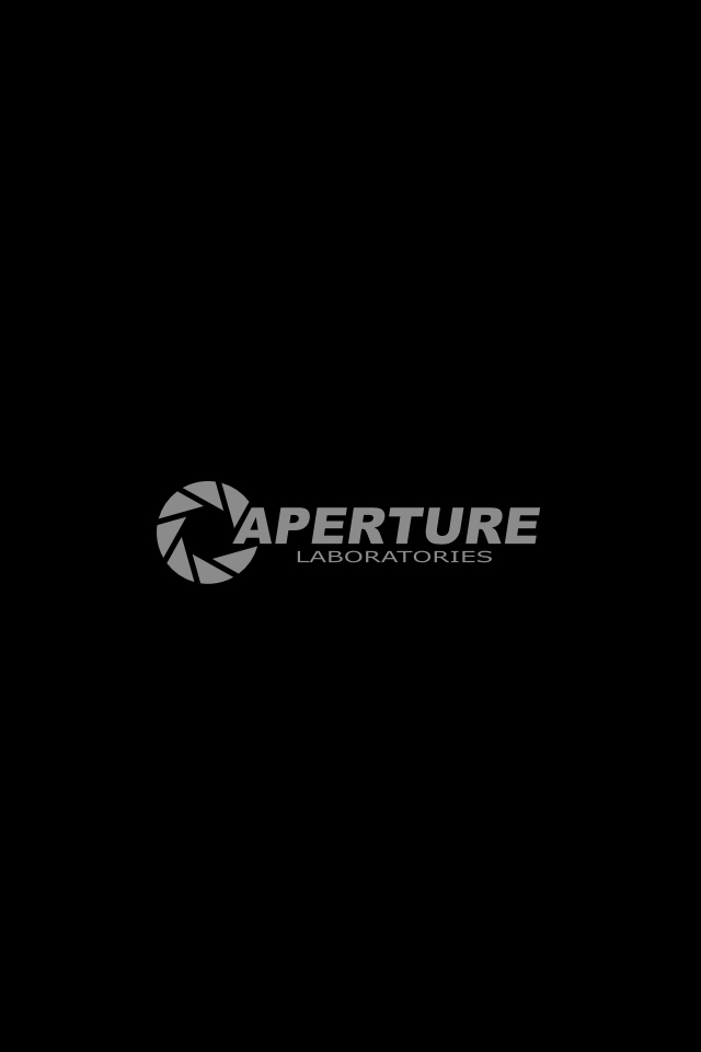 Portal Aperture iPhone Wallpapers HD iPhone Wallpaper Gallery 640x960