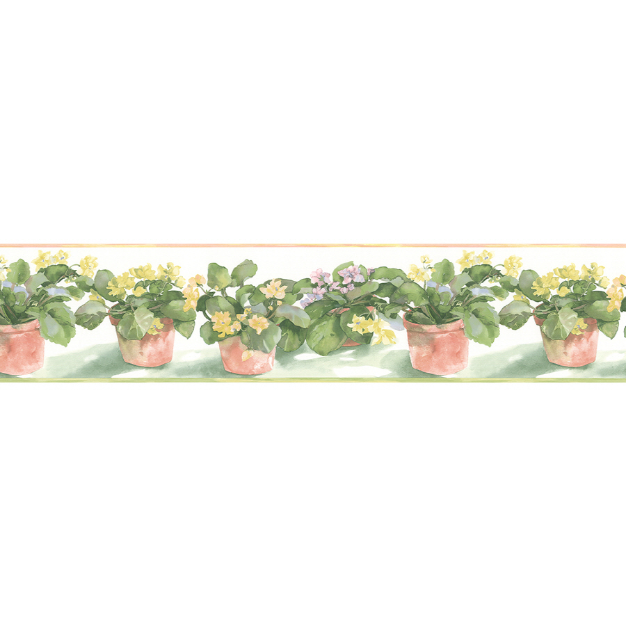Shop Norwall 7 African Violet Prepasted Wallpaper Border at Lowescom 900x900