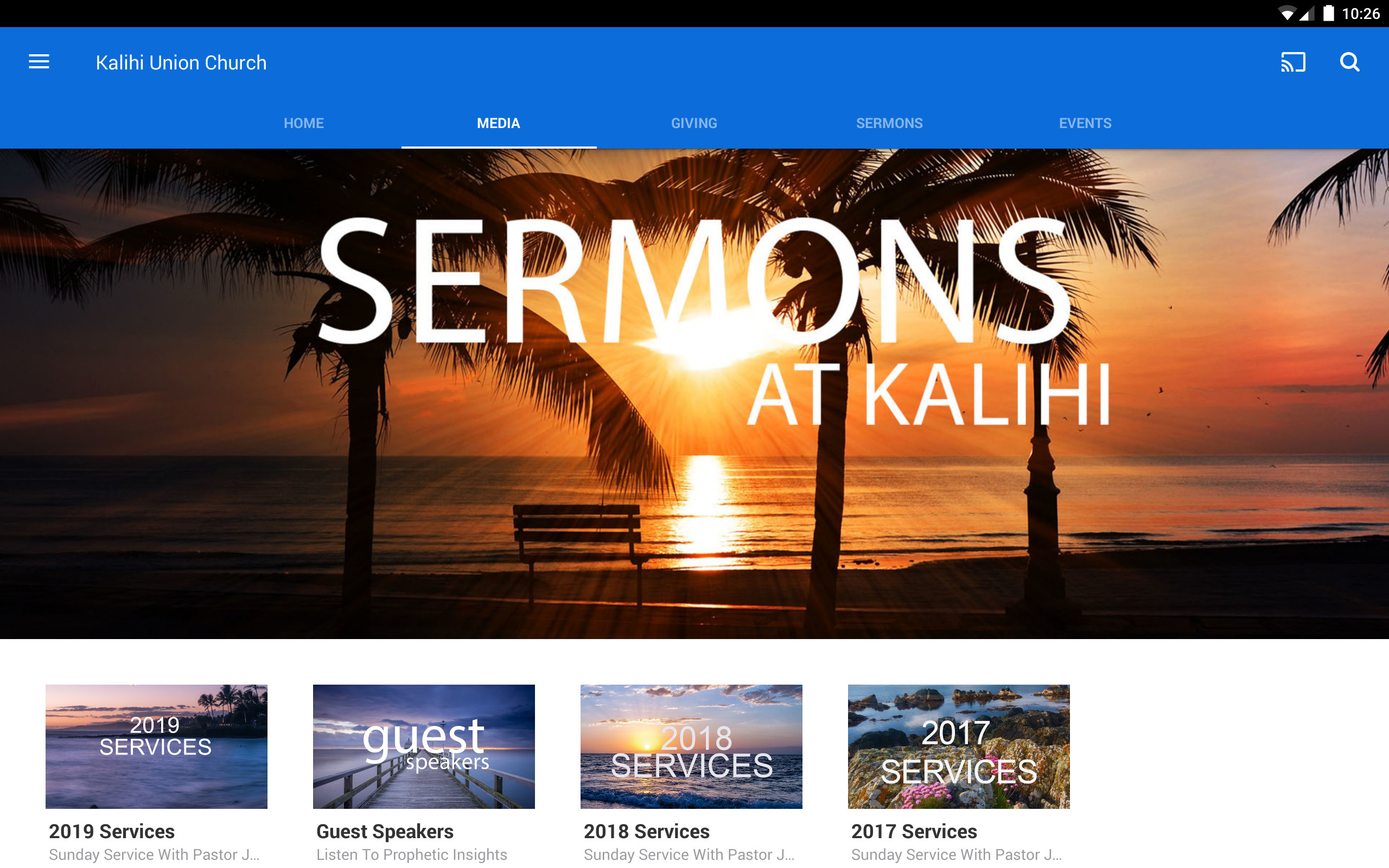 Amazoncom Kalihi Union Church Appstore for Android 2560x1600