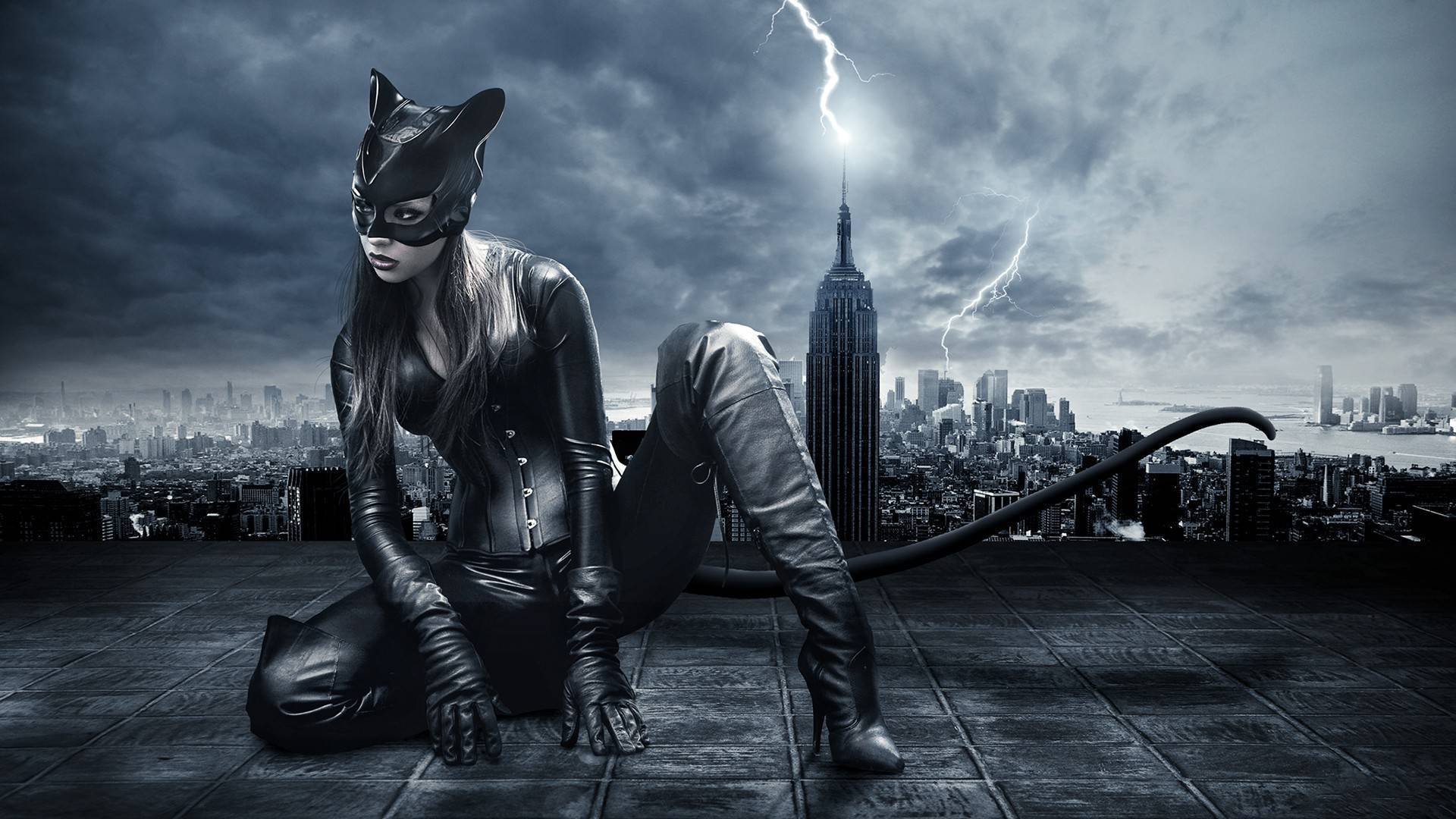 Le Fondo   Wallpapers Gratis y en HD CatWoman   HD Wallpaper 1920x1080
