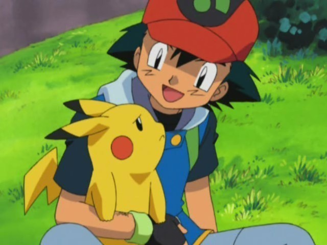 Ash Ketchum images Ash and Pikachu wallpaper and background photos 640x480