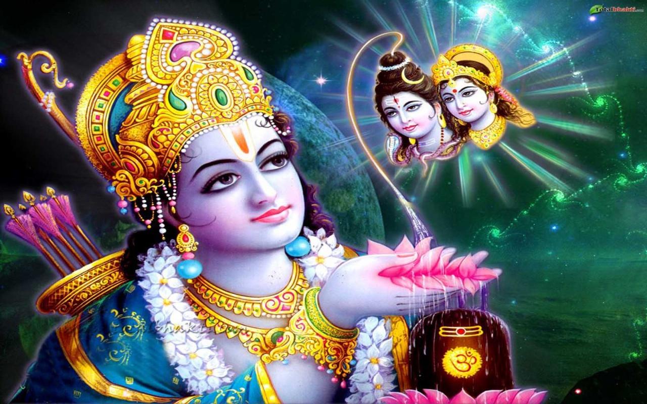 indian god rama hd nice wallpaper 1280x800 1280x800