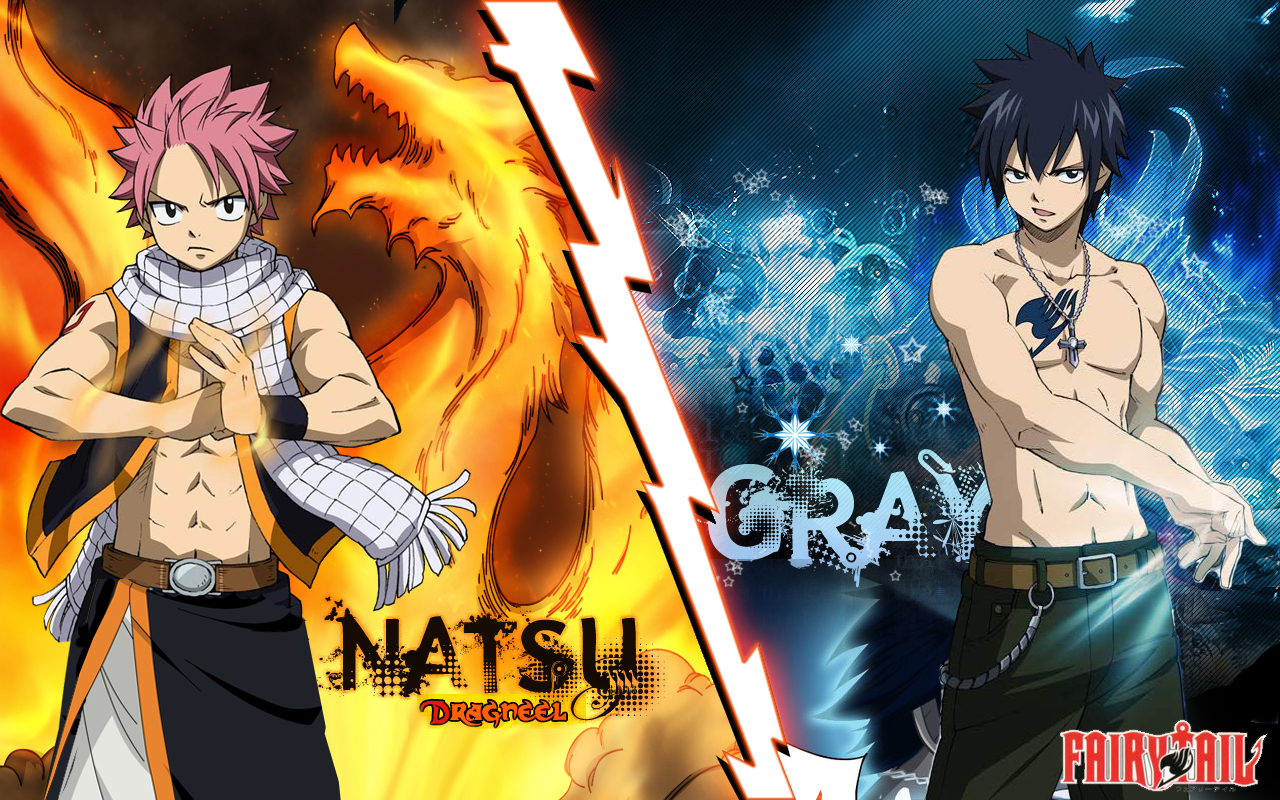 Fairy Tail Natsu and Gray Exclusive HD Wallpapers 1456 1280x800