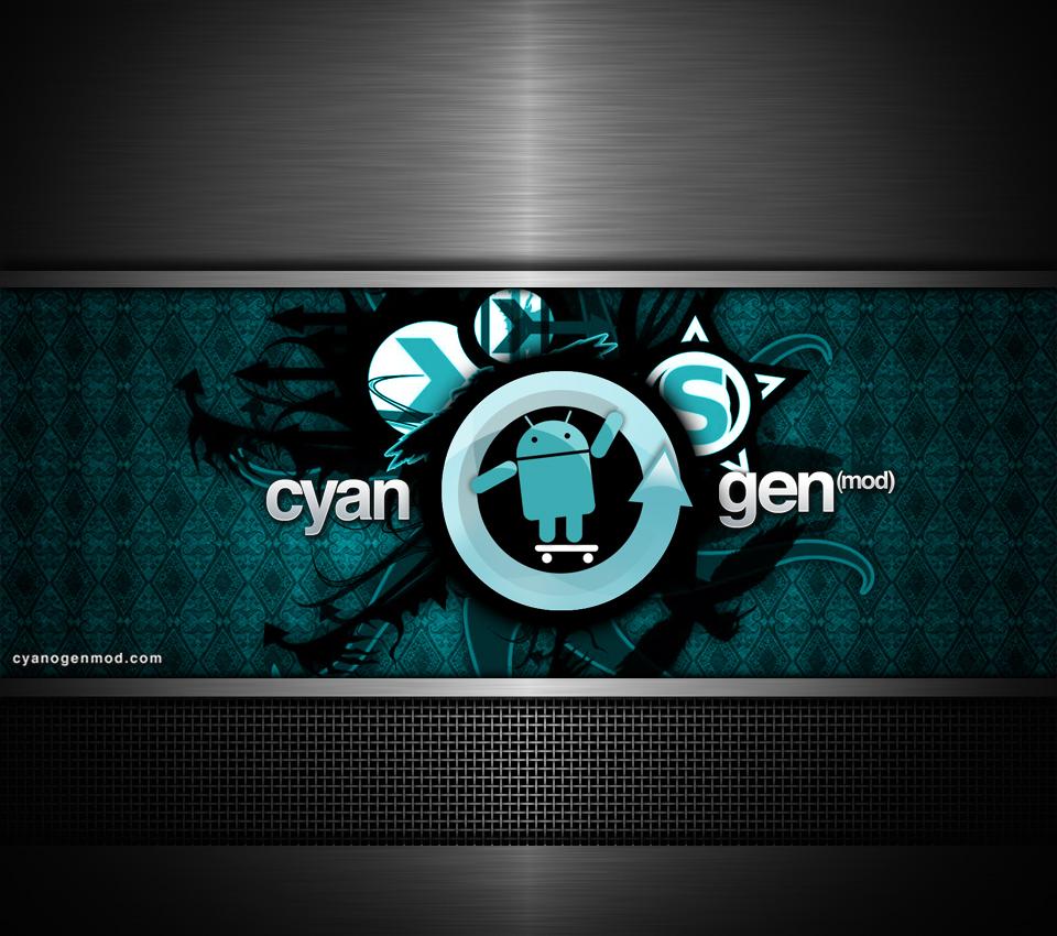 Wallpaper Cyanogen per i nostri telefoni Android 960x850