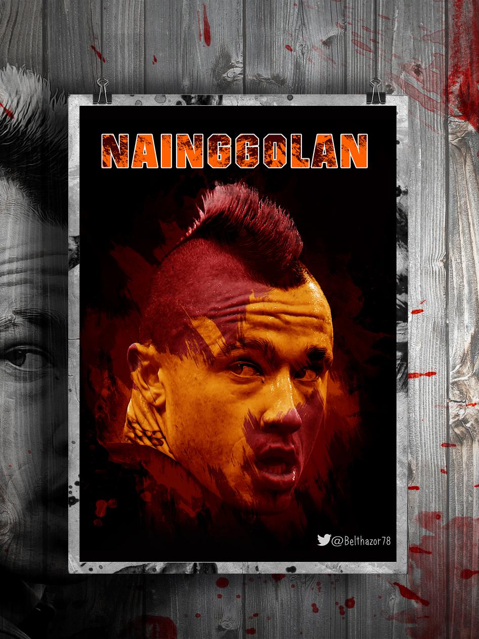 Radja Nainggolan Poster by Belthazor78 947x1263