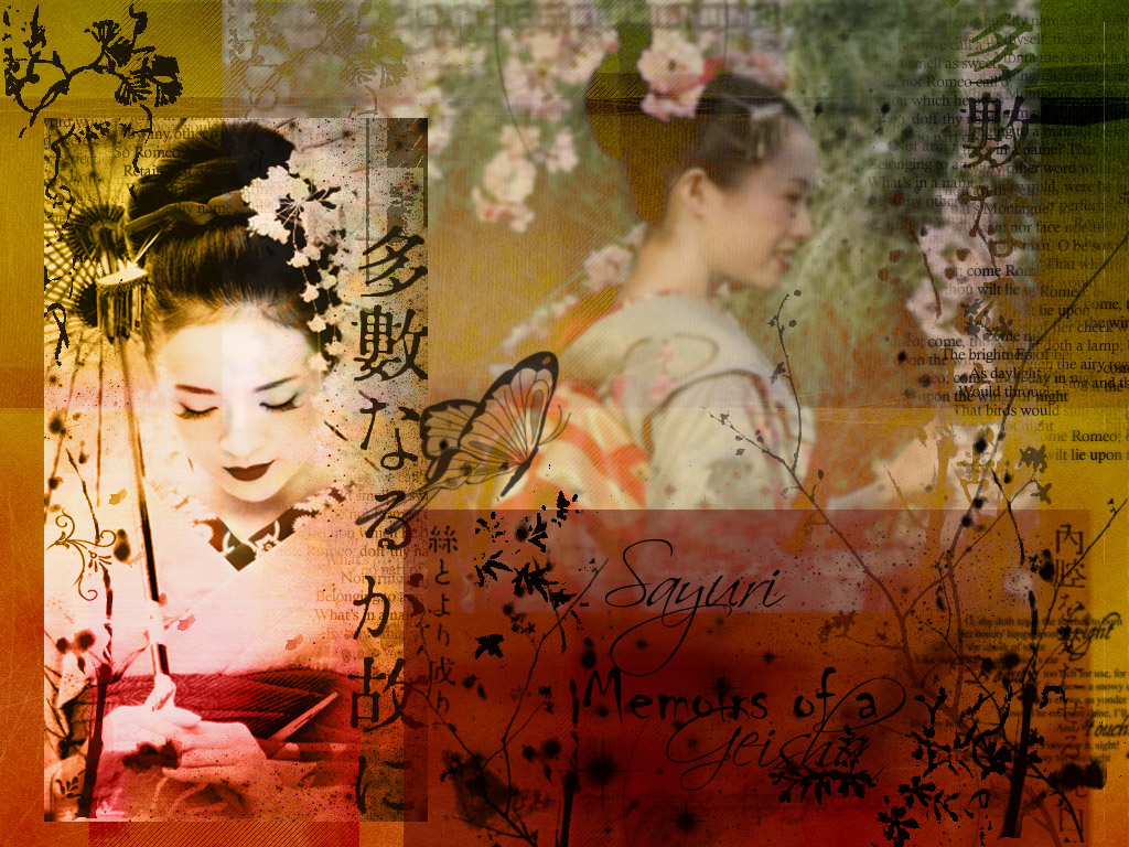 Computer wallpaper for non nude wallpaper Memoirs of a Geisha 1024x768