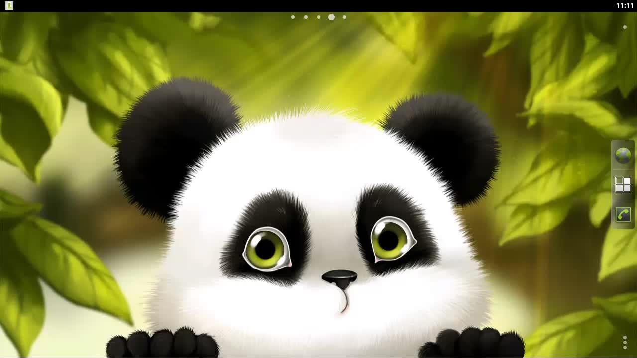 48 Animated Panda Wallpaper On Wallpapersafari