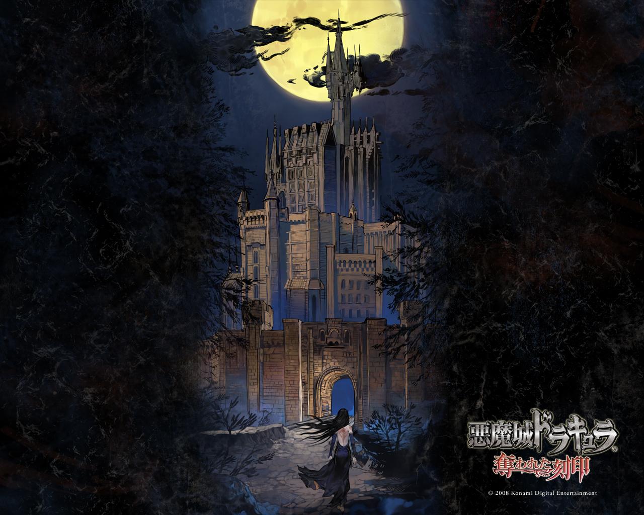 Dracula Castle Wallpaper 1280x1024